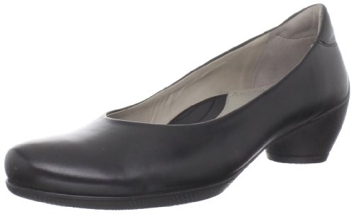 Sculptured femme 00101 Ecco Noir Escarpins Black dEfnq1yp