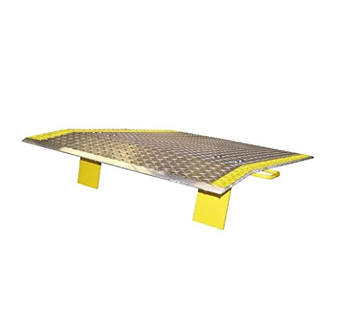 Dock Plate with Handles 48'' Wide x 42'' Long (Length) (4300# Cap.) (Pallet Width) by Economizer