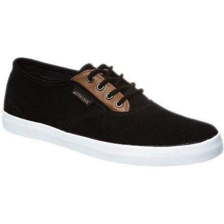 Dekline Daily 602839 - Zapatillas de skate de ante unisex negro - Black Camel