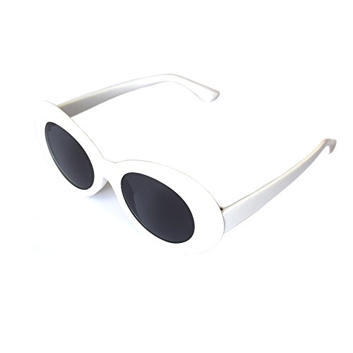 JUSLINK-Bold-Retro-Oval-Mod-Thick-Frame-Sunglasses-Round-Lens-Clout-Goggles