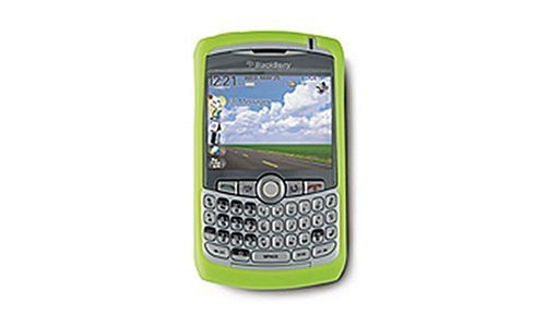 BlackBerry Skin for 8300, 8310, 8320, 8330 (Green) - 8330 Rubber
