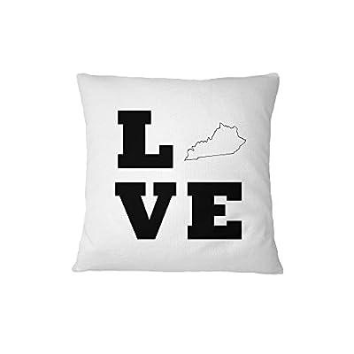 Love Kentucky Sofa Bed Home Decor Pillow Cover