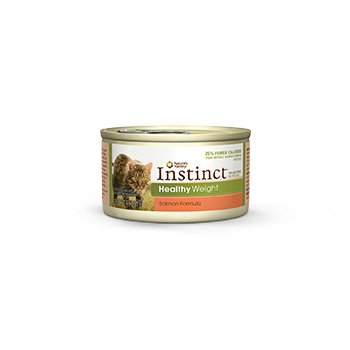 Nature's Variety Instinct Grain-Free Healthy Weight Salmon Canned Cat Food, 3 oz., Case of 24