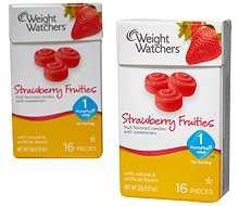 Weight Watchers Candies Strawberry Fruities 1 point value (2 Boxes) Brand New Sealed.