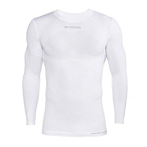 Errea 3dwear Davor LS camiseta térmica blanco XXS