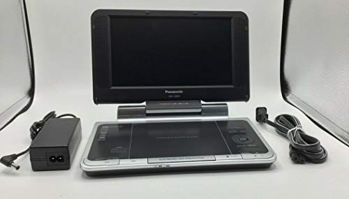 - Panasonic DVD-LS850 Portable DVD Player with 8.5