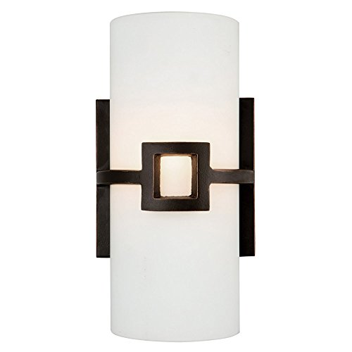 Monroe 1 Light Sconce - Design House 514604 Monroe 1 Light Wall Light, Oil Rubbed Bronze