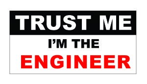 ( 3 ) Trust Me I ' m TheエンジニアFunnyハード帽子/ヘルメットステッカー  B00OM5OOEM