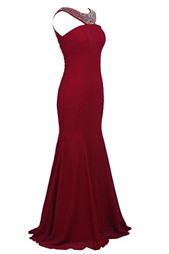 YiYaDawn - Vestido - para mujer Koralle