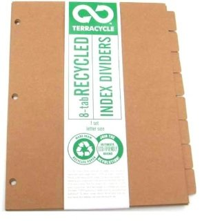Terracycle 100  Recycled 8 Tab Divider