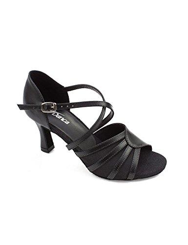 Talon 4 So de femme Tango Salsa danse Rumba BL noir 160 6 cm Salon Danse Danca Latine Chaussure ApnrSAwOq