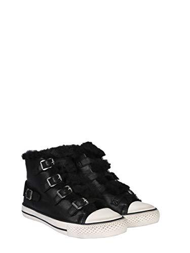 Women's Ash VALKO02BLACK Sneakers Black Top Leather Hi qCOwCHdS