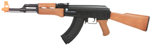 Kalashnikov AK47 Entry-Level AEG, Plastic Body/Gearbox/Gears, Box, Black/Brown (Best Entry Level Rifle Scope)