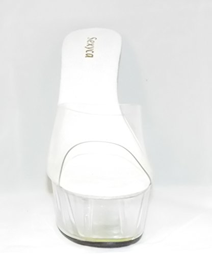 Fashion Donna Trasparente Sandali First Boutique zWxd46q