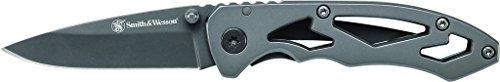 Smith & Wesson CK400 Frame Lock Drop Point Folding Knife