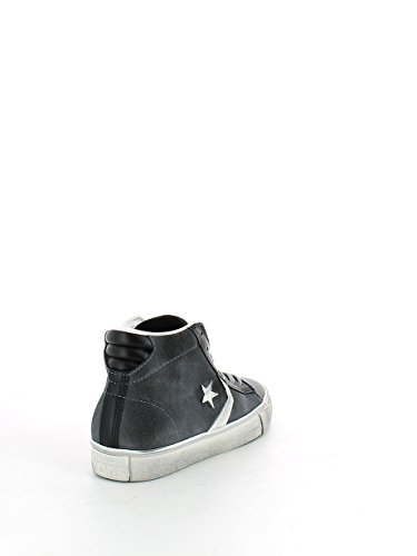 Converse Pro Leather Mid unisex erwachsene, wildleder, sneaker high Grau / Schwarz