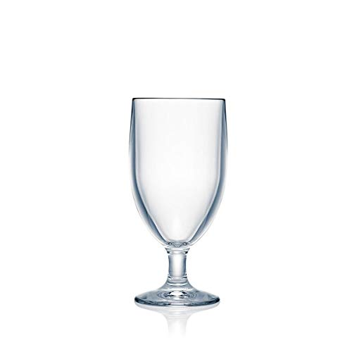Contemporary Water - Strahl Design+ Contemporary Water Soda Goblets, 12-Ounce, Set of 4