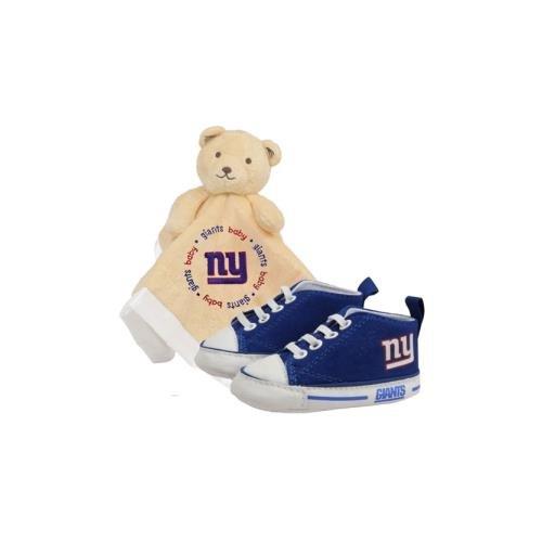 (New York Giants NFL Infant Blanket and Shoe Set)