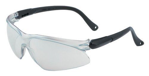 Jackson Safety V20 Visio Clear Anti Fog Lens Safety Eyewear with Silver Temples (Pack of 12)
