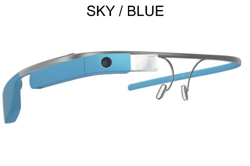 Google Glass XE V2 | Reading Glass Frame (4 Options) (Sky Blue)