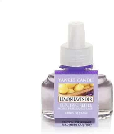Yankee Candle Lemon Lavender Scent-Plug Air Freshener Refill, Fresh Scent