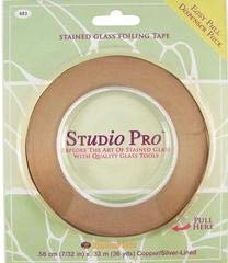 Studio Pro 7/32-Inch Silver Lined Copper Foil Tape (Tape Silver Foil)