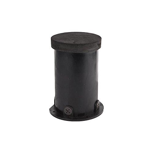 """WAC Lighting 5030-PIP-PVC WAC Landscape Accessories Concrete Pour Kit for 3"""" Inground Light, Black"""