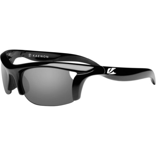 Kaenon Womens Soft Kore Polarized Sunglasses - Black/Grey 28 / One Size Fits - Kaenon Sunglasses Kore