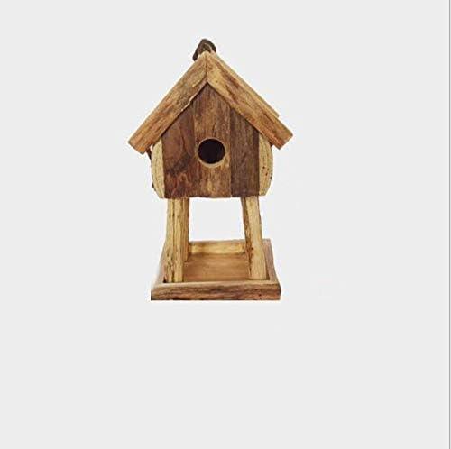mzq Im Freienvogelhaus des idyllischen Handgemachten Vogelhausheimausstattung dekorativen Vogelhauses im Freie