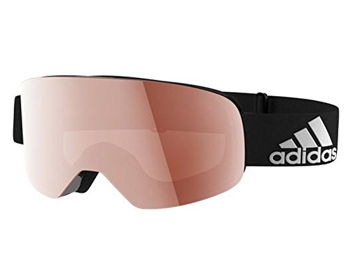 Lst Goggle (ADIDAS google backland aD80 or progressor c aD81 many style (backland , black matt / LST active silver (antifog) lens, one size))