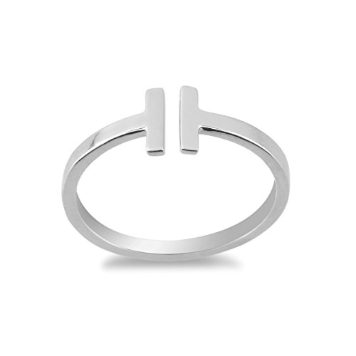 double bar ring - 5