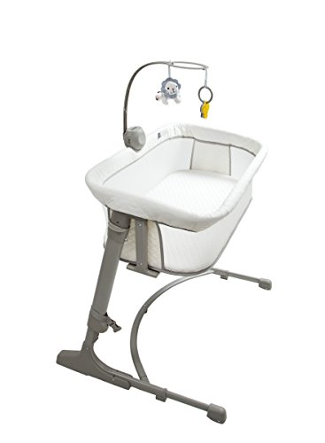 Arm' s Reach Concepts The Co-Sleeper Versatile Bassinet - Ivory/ Grey