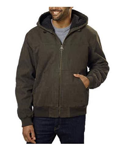 G.H. Bass & Co Men's Canvas Jacket (Green, Medium)