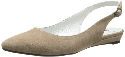 One Step Carmel Damen Ballerinas Beige - Beige (Cuir Velour Taupe)