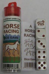 Horse Racing Dice Game
