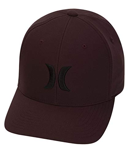 (Hurley Men's Dri Fit One and Only Hat (Mahogany/Black (204), l/XL))