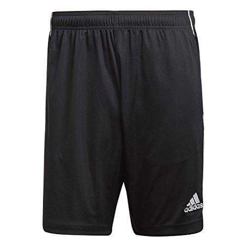 adidas Men's Core18 Training Shorts, Black/White, Large