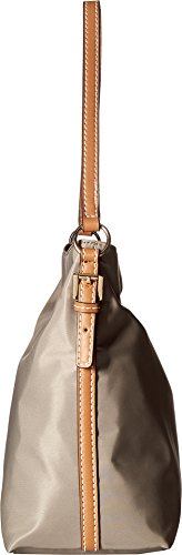 Solid Hilfiger Julia Womens Hobo Nylon Khaki Convertible Tommy zIq8qP