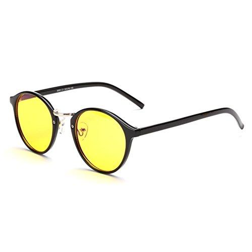 CUSHAPE ASG800044C4 New Style Retro women's Sunglasses,Classic Full - Ozzy Sunglasses Electric