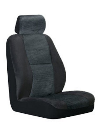 Fairfield Low Back Bucket Seatcover - Black - Pack of 2