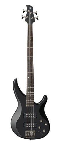 Yamaha 4-String Bass Guitar, Right Handed, Black, 4-String (TRBX304 BL)