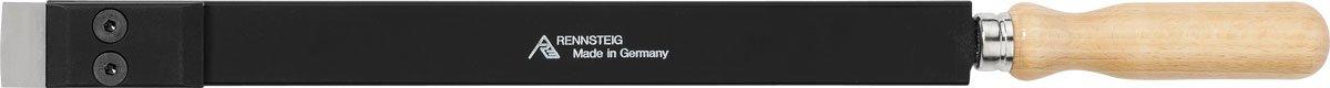 Rennsteig 465 020 0 Carbide Flat Scraper, Black/Beige, 300 x 20 x 5 mm