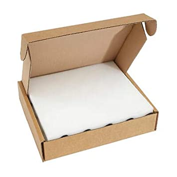 Pack of 25 Brown Cardboard and Foam Postal Boxes 25mm Thick Foam 280L x 280W x 130H mm