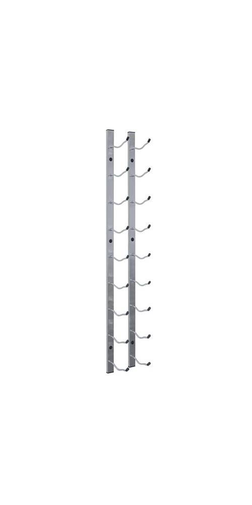 Vinotemp VNTEP-WIRE1S 9 Bottle Epic Metal Wine Rack, Stainless Steel by Vinotemp
