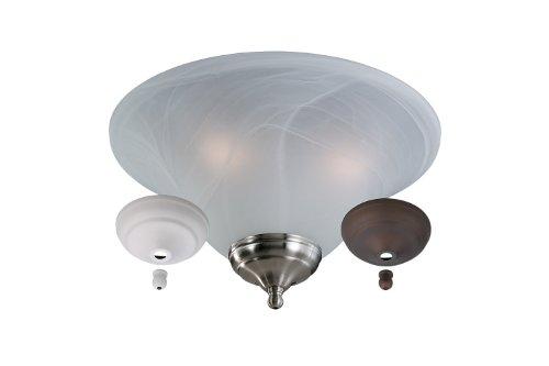 Monte Carlo Polished Ceiling Fan - 4