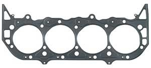 Mr. Gasket 3152G MLS Head Gasket; Multi-Layered Steel; Nitrile Coated Outer Layers; w/Steel Inner Spacer; 4.62 in. Gasket Bore; 0.040 Compressed Thickness; Gen IV; Sold Individually;