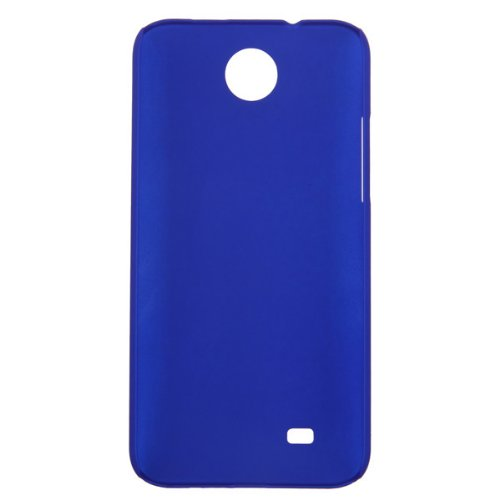 Sanheshun Slim Thin Hard Plastic Snap On Back Case Cover Shell Skin Compatible with HTC Desire 300 (Deep Blue)