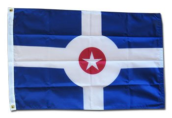 Indianapolis Flag - Indianapolis - 3' x 5' Nylon City Flag