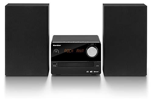Karcher MC 6470D compacte stereo-installatie (met CD-speler, stereo-installatie met Bluetooth, FM- en DAB+-radio met…
