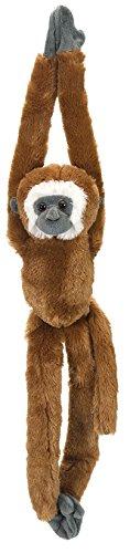 (Wild Republic Gibbon Plush, Monkey Stuffed Animal, Plush Toy, Gifts for Kids, Hanging 20